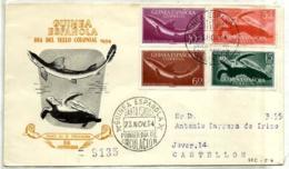 Guinea Española Nº 338/41 En Sobre - Guinea Española