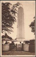 The Lighthouse, Burnham-on-Sea, Somerset, 1943 - Photochrom Postcard - England