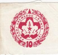 Rare Patch Scout Breakthrough Of The Srem Front Sremski Front Yugoslavia Scouting 1978 Scouts Meeting - Scoutisme