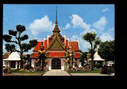 C355 THAILAND - GREATER BANGKOK - WAT AROON THONBURI CIRC. 1978 - Tailandia