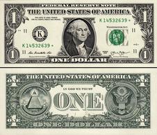 USA 1 Dollar 2013 UNC Replacement - Billets De La Federal Reserve (1928-...)