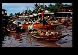 C359 THAILAND - BANGKOK - WAT SAI FLOATING MARKET - Tailandia