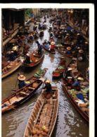 C364 THAILAND - BANGKOK - THE COLORFUL FLOATING MARKET - Tailandia