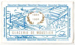 Glacerie De Moustier Sur Sambre Glaverbel Ancien Autocollant Sticker - Autocollants
