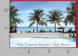 CARTOLINA VG TAILANDIA - Rajapruek Samui Resort - Koh Samui - 12 X 17 - ANN. 2010 - Tailandia