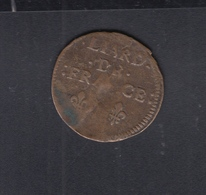 Louis XIV Liard Fe France 1658 - 987-1789 Könige