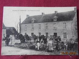 CPA - Environs De Carentan - Une Ferme Normande - Carentan