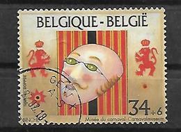 Belgien 1995  Mi 2636  Blockmarke Aus Bl. 64  Intern. Karnevalmueum  Gestempelt - Belgien