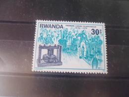 RWANDA  YVERT N°722** - Rwanda