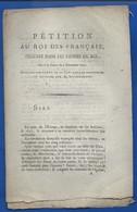 Pétition Au Roi Des Français 6 Décembre 1792      66 Pages - Ex-libris