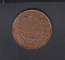 France 10 Centimes 1872 - Frankreich