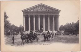 Paris: 2x CAROSSE & CHEVAL, HIPPOMOBILE - La Madeleine - Toerisme