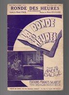 Partition La Ronde Des Heures Chanté Par André Baugé - Fox-mélodie De 1903 - Opern