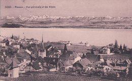 Peseux NE Et Les Alpes (5000) - NE Neuchatel