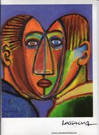 Plaquette Illustrateur Lassalvy Environ Année 2000 - Lassalvy