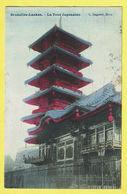 * Laken - Laeken (Brussel - Bruxelles) * (L. Lagaert) La Tour Japonaise, Japan Tower, Couleur, Kleur, TOP, Unique - Laeken