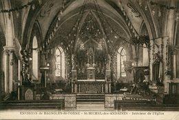 61 - SAINT-MICHEL-des-ANDAINES - Intérieur De L'Eglise - Autres Communes