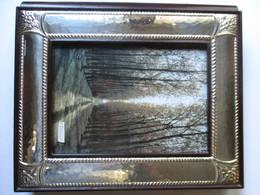 Album Fotografico In Argento Cesellato E Pelle - Silverware