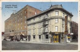 KINGSTON ONTARIO CANADA~LASALLE HOTEL-1939 POSTMARKED POSTCARD 36377 - Altri