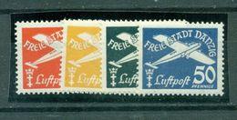 Danzig Flugzeuge Nr. 299 - 301 Postfrisch ** - Danzig