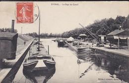 88----EPINAL---le Pont Du Canal---( Péniches )---voir 2 Scans - Epinal