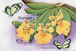 Lote 1991, Nicaragua, 1870, HF, SS, Orquidea, Orchid - Nicaragua