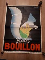 OUDE AFFICHE 1950-1965, BOUILLON, Visitez Bouillon(+/-45x60cm), ILLUSTRATEUR LAMBERT J. - Affiches