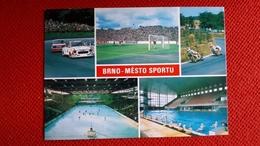 Brno CP Stade Stadium Cartolina Stadio Postcard Stadion AK Carte Postale Stade Estadio - Calcio