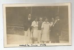Photographie 14 Calvados Ver Sur Mer 1921 Photo Collée Sur Papier 7x11 Cm Env - Lieux