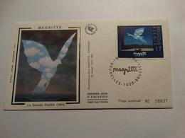 Belgique 1998-enveloppe FDC Magritte-tirage Numéroté. - FDC