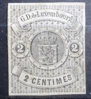 Luxemburg 1859   Nr. 4   Zonder Gom  (*)     CW  60,00 - 1859-1880 Armoiries