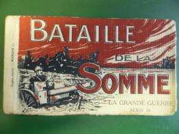 Bataille De La SOMME : Carnet De 20 Vues  Animées TTB ( Avec Feuillets De Papier De Soie ) - War 1914-18