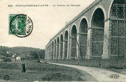 77 - FONTAINEBLEAU-AVON - Le Viaduc De Changis - Fontainebleau