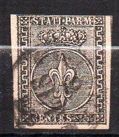 Col11   Italie Parme  N° 4 Oblitéré  Cote  100,00 Euros - Parma