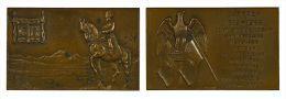 M05029 NAPOLEON - LAFFREY - RETOUR DE L'ILE D'ELSE - TROUPES QUI SE RALLIENT A SON AIGLE - 1815-1965 (129g) - Royal / Of Nobility