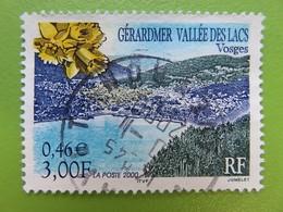 Timbre France YT 3311 - Série Touristique - Gérardmer - Vallée Des Lacs (Vosges) - 2000 - Cachet Rond - France