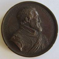 M02055  HENRI IIII - ROI DE FRANCE ET DE NAVAR - ORDRE ROYAL DE LA LEGION D'HONNEUR - Son Buste - (36g) - Royal / Of Nobility