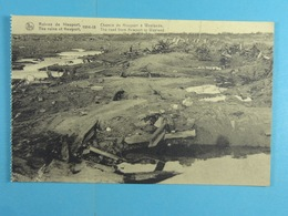 Ruines De Nieuport 1914-18 Chemin De Nieuport à Westende - Nieuwpoort
