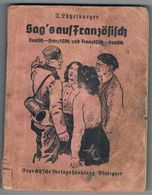 TRADUCTEUR ( UBERJEZUNG ) Deutch / Francais . Occupation Allemande. 1940 - Books, Magazines  & Catalogs
