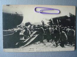 CONTICH : 21 Mai 1908 Terrible Accident De Chemin De Fer -la Recherche Des Victimes - Expositions