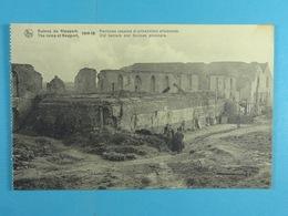 Ruines De Nieuport 1914-18 Ancienne Caserne Et Prisonniers Allemands - Nieuwpoort