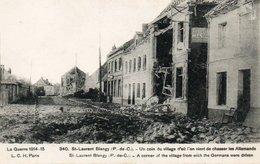62- ST LAURANT BLANGY   Guerre 1914-1918 - Saint Laurent Blangy