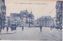 ALLEMAGNE - BONN DER RHEIN _ PLACE DU MARCHE - Bonn