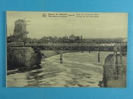 Ruines De Nieuport 1914-18 Pont Sur Le Canal D L'Yser - Nieuwpoort