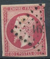 N°17  NUANCE ET OBLITERATION. - 1853-1860 Napoleon III