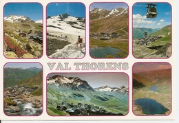 73. CPM. Savoie. Tarentaise. Val Thorens. Massif De La Vanoise (animée, Télé-cabine, 7 Vues) Clichés Mazure - Margry - Val Thorens