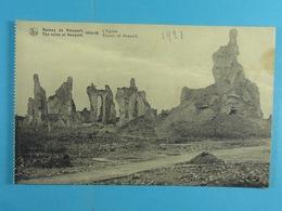 Ruines De Nieuport 1914-18 L'Eglise - Nieuwpoort