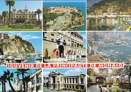 CPM LA PRICIPAUTE DE MONACO MULTIVUES Souvenir - Monte-Carlo