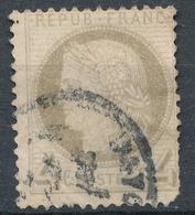 N°52 NUANCE ET OBLITERATION. - 1871-1875 Cérès