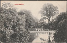 Victoria Park, Bath, Somerset, 1910 - Senior & Co Postcard - Bath